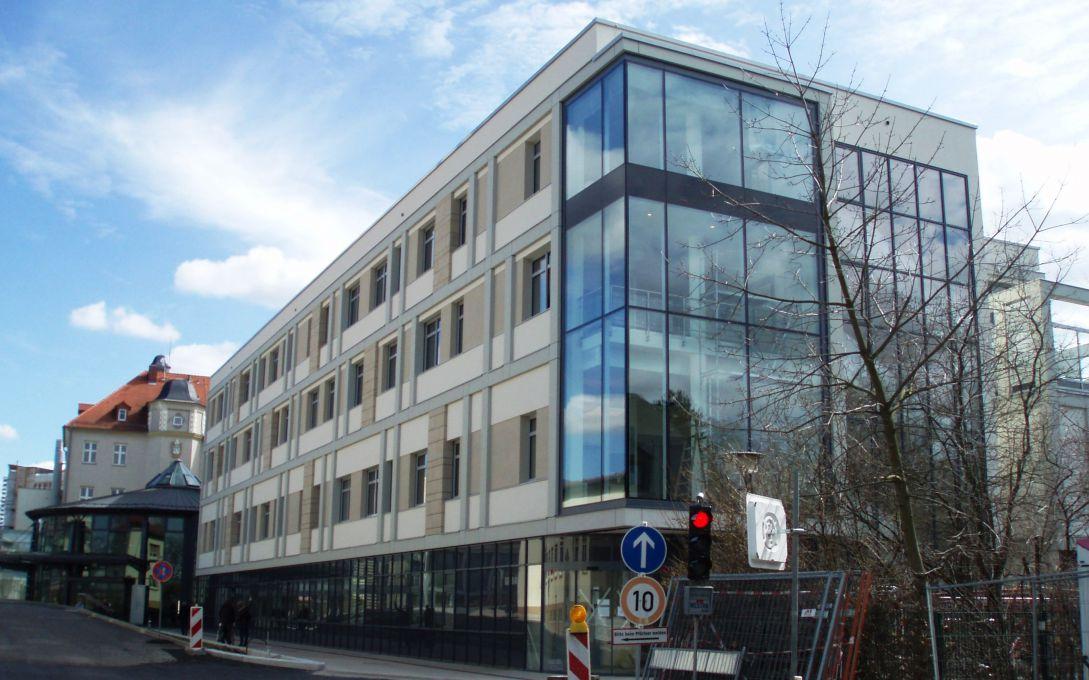 Hdk neubau notaufnahme rvk for Architekt leipzig